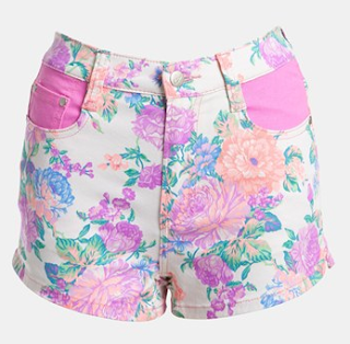 MINKPINK 'Electric Field' High Waist Shorts