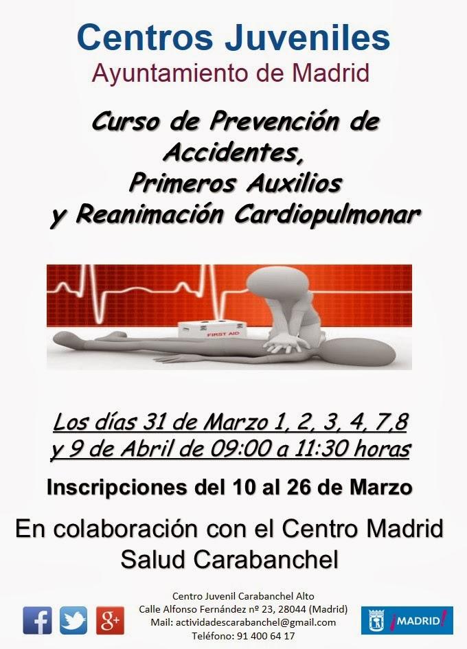 Mapeando por carabanchel alto programaci n marzo cj - Centro de salud vistalegre la flota ...