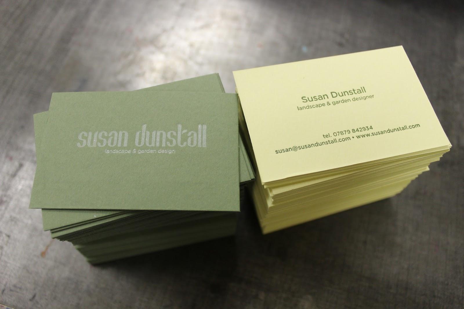 business cards folders