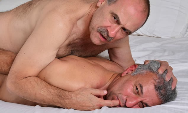 hot gay men laying down