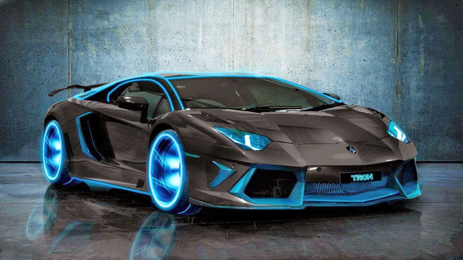 Lamborghini Aventador Black Velg Light Car Wallpaper High Quality