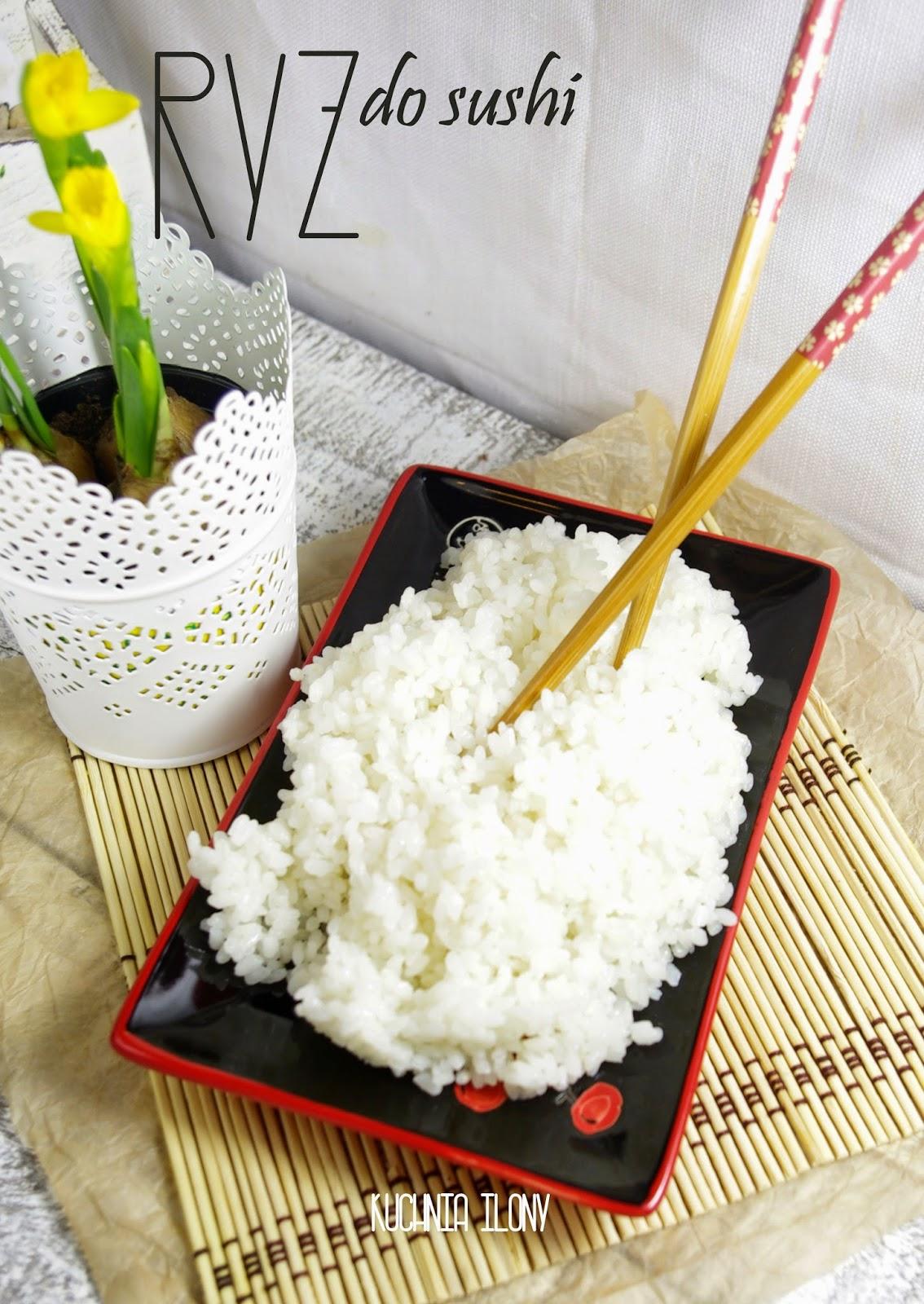 ryż do sushi, domowe sushi, ryż, ryż na sushi, kuchnia ilony, przepisy, kuchnia japońska,