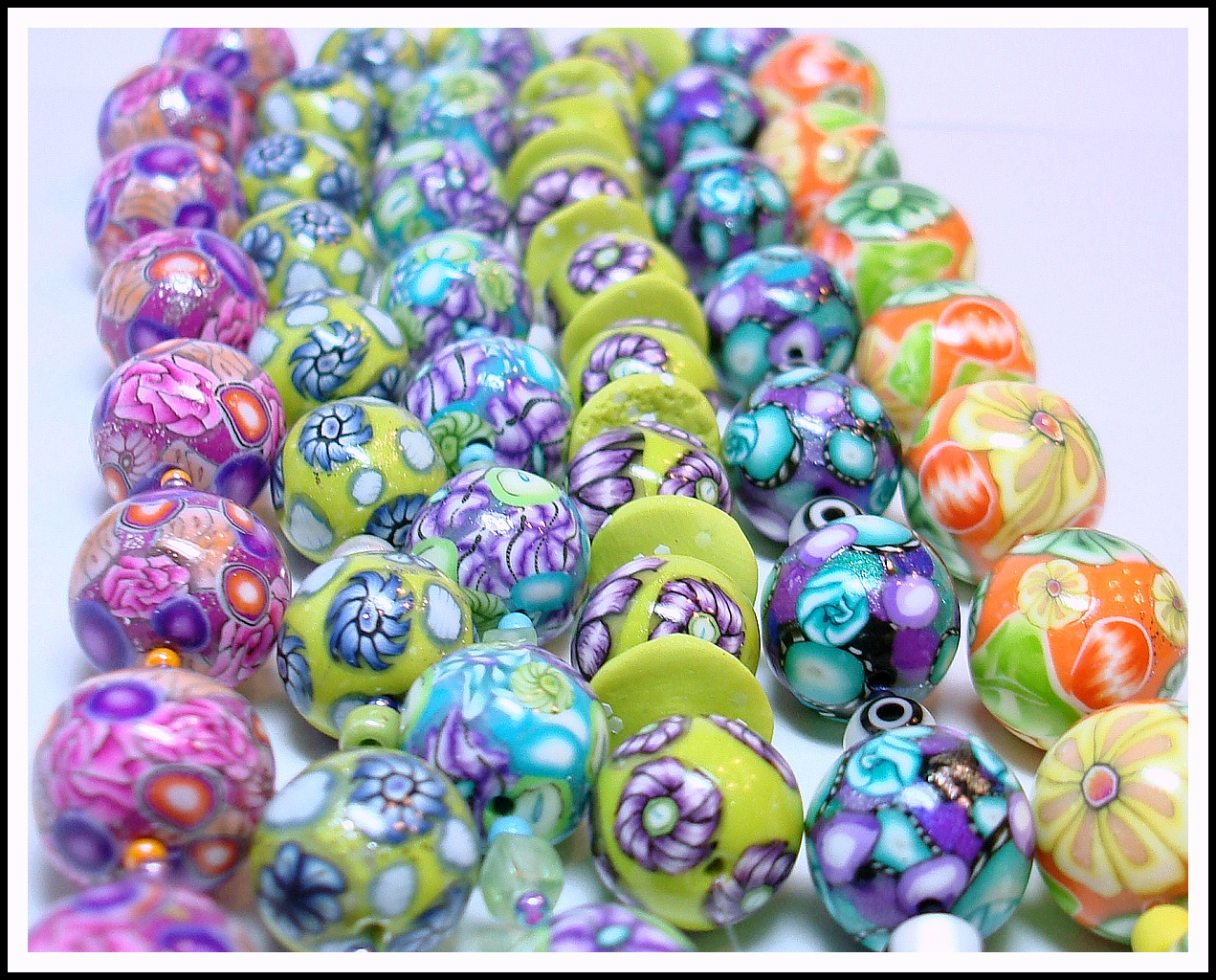 how to make polymer beads