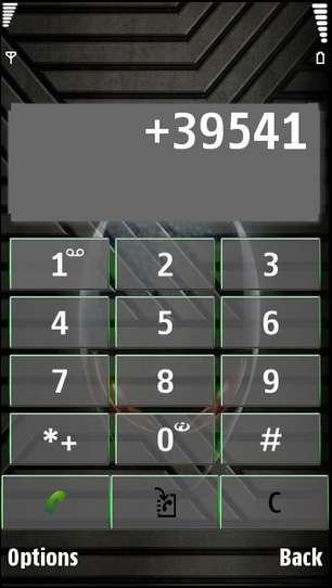 tema alien nokia symbian