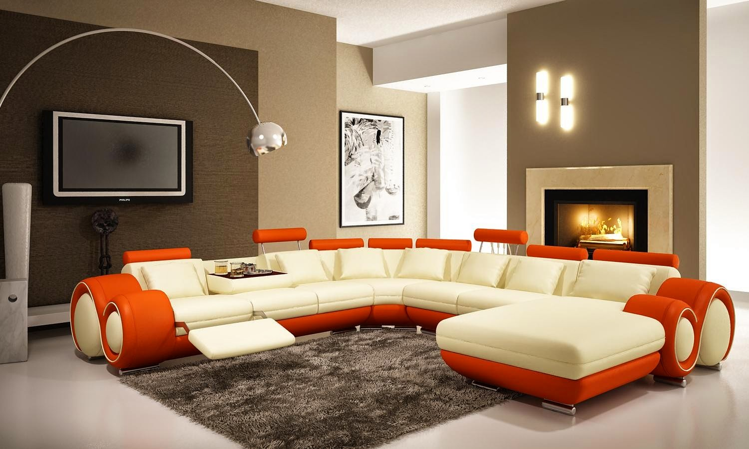 Contemporary sofa ideas modern ideas for living room - Furniture ideas for living room contemporary ...