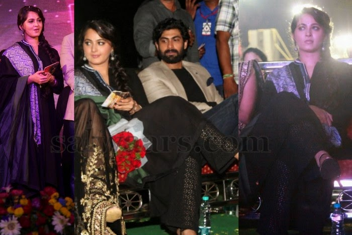Anushka at Rudrama Devi Audio Function