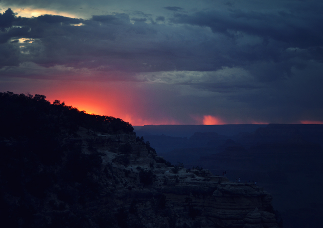 The Flying Clubhouse: Grand Canyon I, sunset
