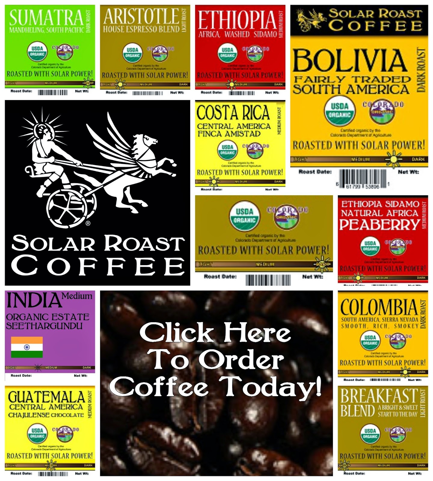 Solar Roast Website