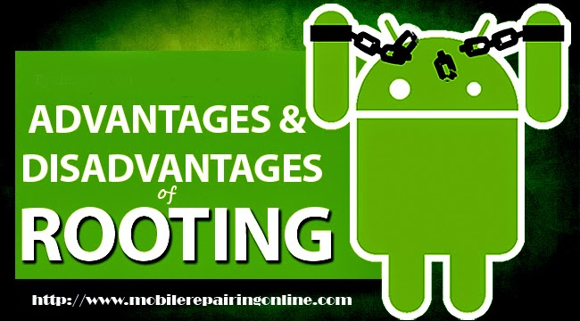 disadvantages of rooting your android phone