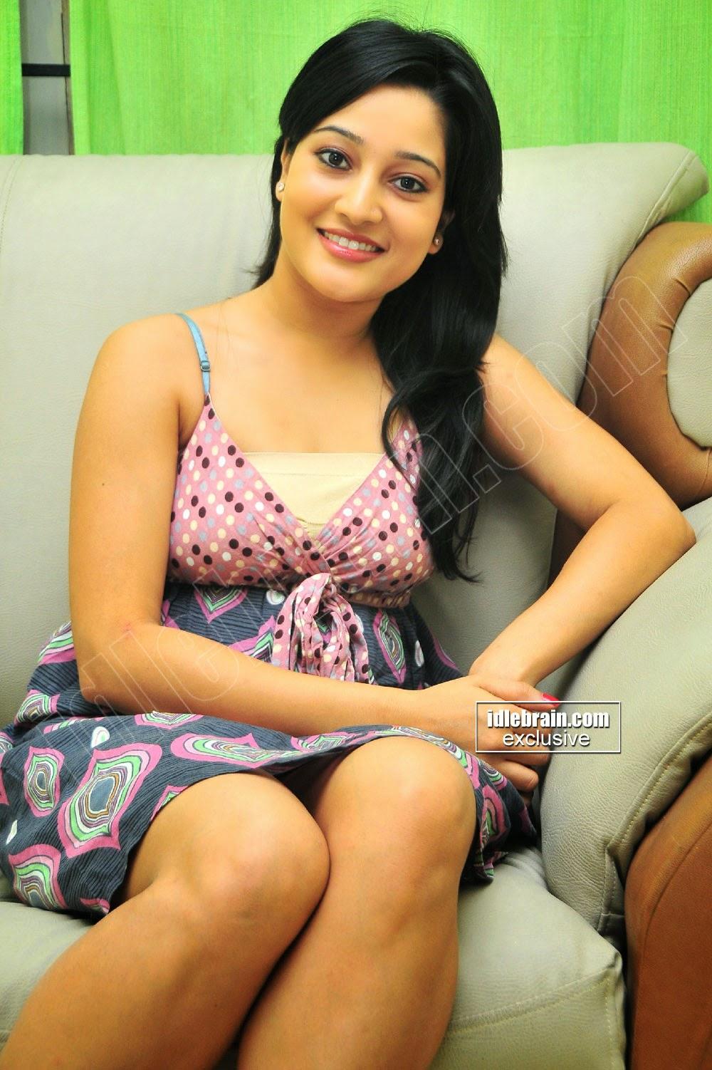 Ritu Barmecha open legs