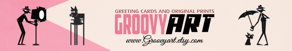GROOVYart Greeting cards