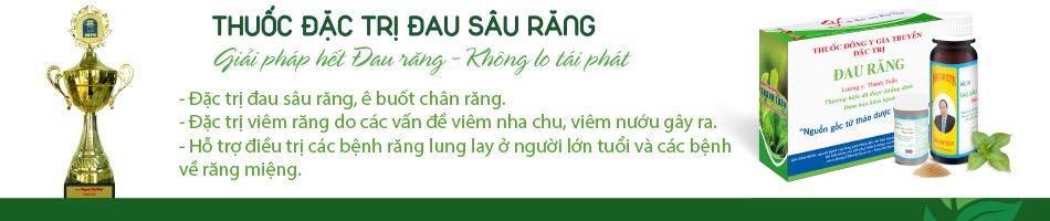 + THUỐC CHỮA ĐAU RĂNG.VN
