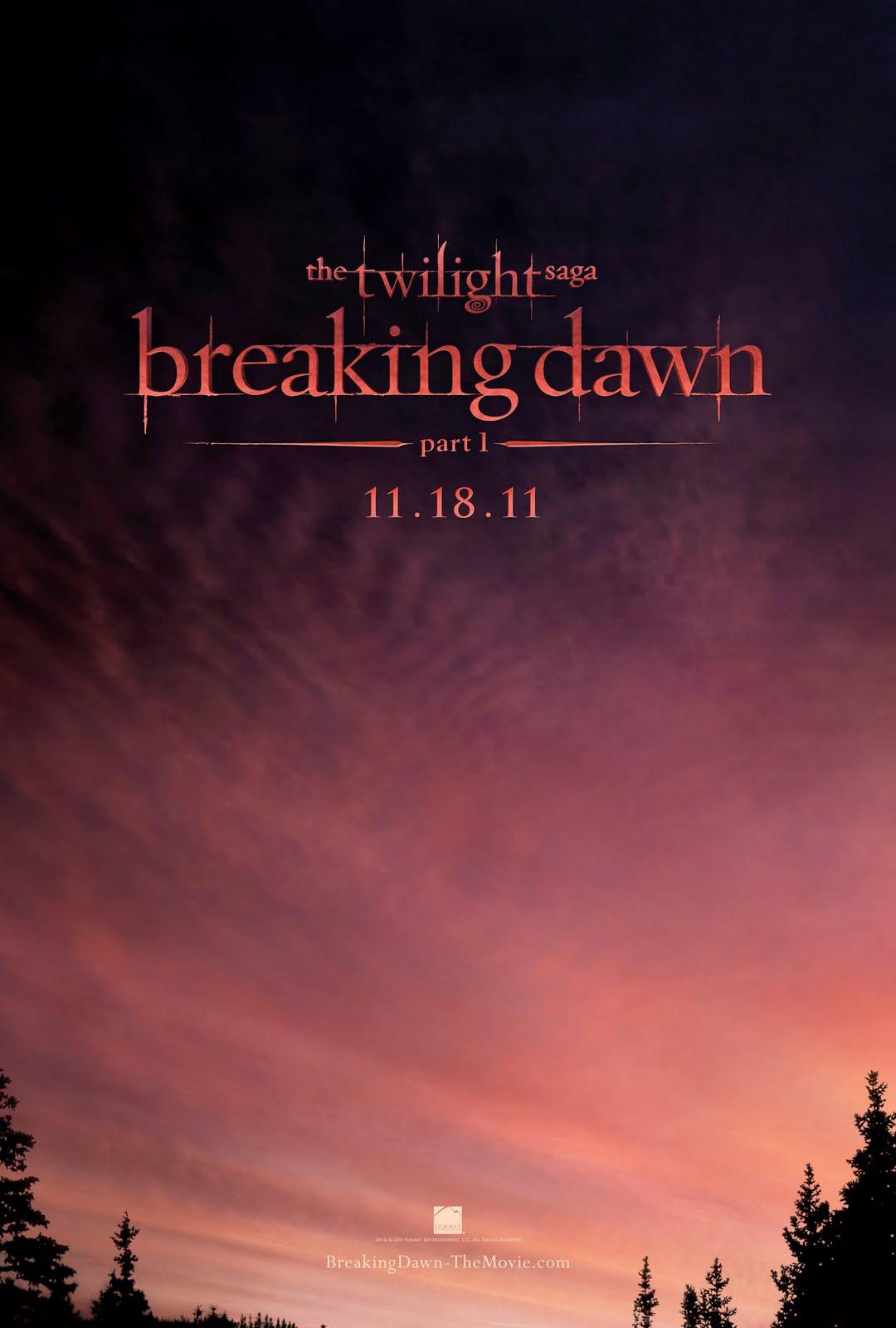 Fiche du film BD Part 1 [MAJ 11.11.11] Affiche%2Bteaser%2BBreaking%2BDawn%2Bpart%2B1