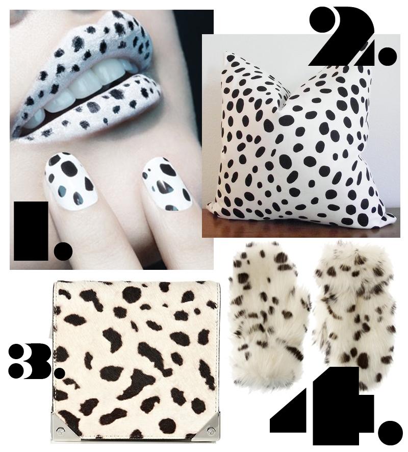 Trend Alert Dalmatian Print Home Decor: RABBITYNE