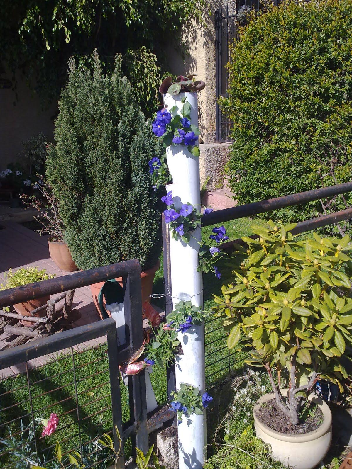 Tiempo jardin huerto vertical for Como se realiza un huerto vertical