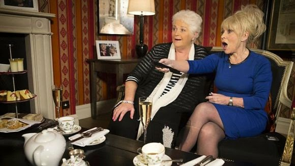 Barbara Windsor & Pam St Clement