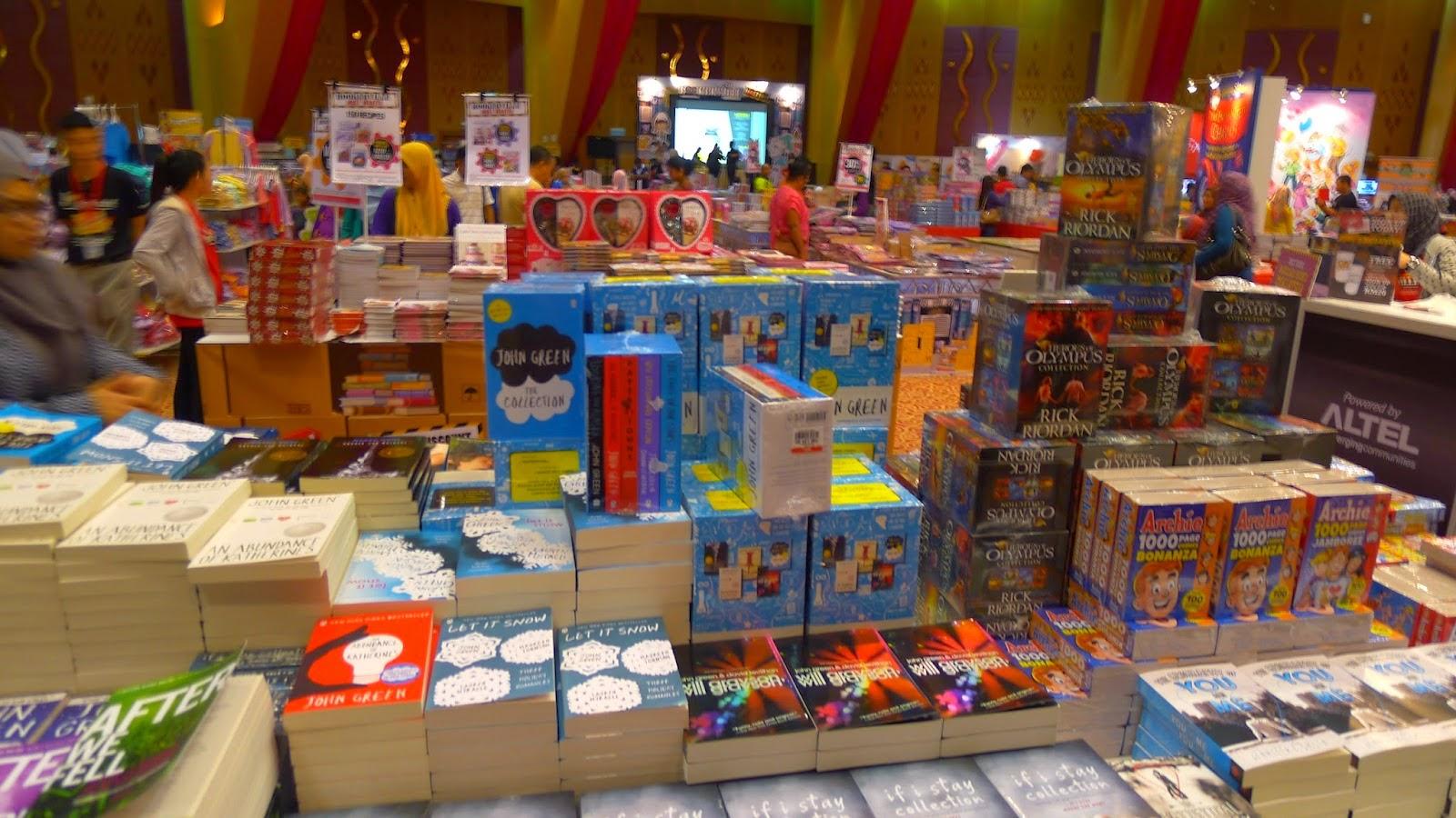 Jom Kuala Lumpur International Book Fair 2015 KLiBF 2015 Duniaku