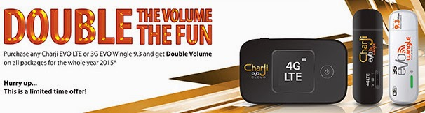 PTCL EVO Double-Volume Offer