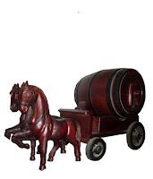 Trống gỗ Ngựa đôi - Vang Đà Lạt