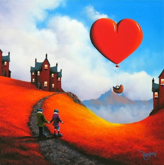 Art of Love by Artist David Renshaw
