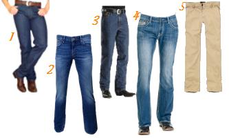 moda masculina calças