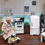 Кухня с бабушкой