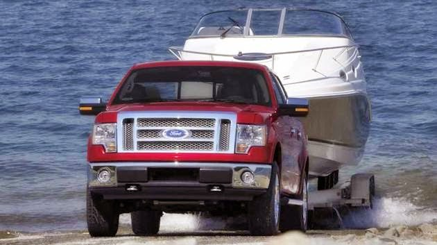2010 Ford F150 Towing Capacity