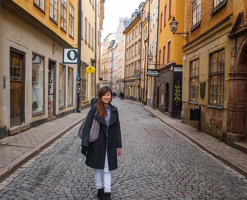 empty streets of gamla stan
