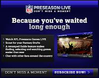 Preseason live tv