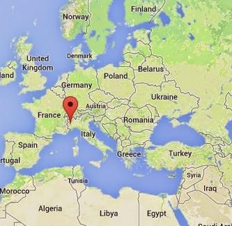 Torino'nun Haritadaki Yeri