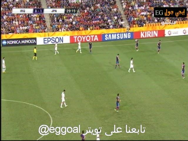 اهداف مباراة العراق و اليابان 0-1  كأس امم اسيا || 16-1-2015 || الشوالى