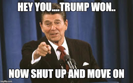 HEY YOU, TRUMP WON, NOW MOVE ON!