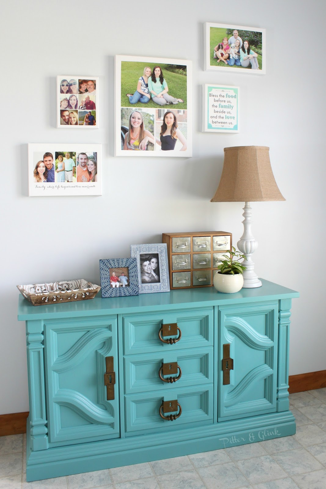 Creating a Gallery Wall with @Shutterfly's New Design-A-Wall Tool pitterandglink.com #ShutterflyDecor