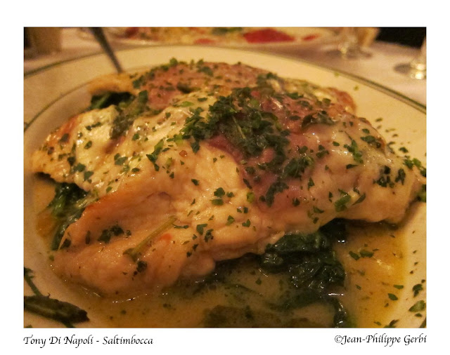 Image of Saltimbocca at Tony Di Napoli in Times Square NYC, New York