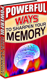 Sharpen Your Memory Now!