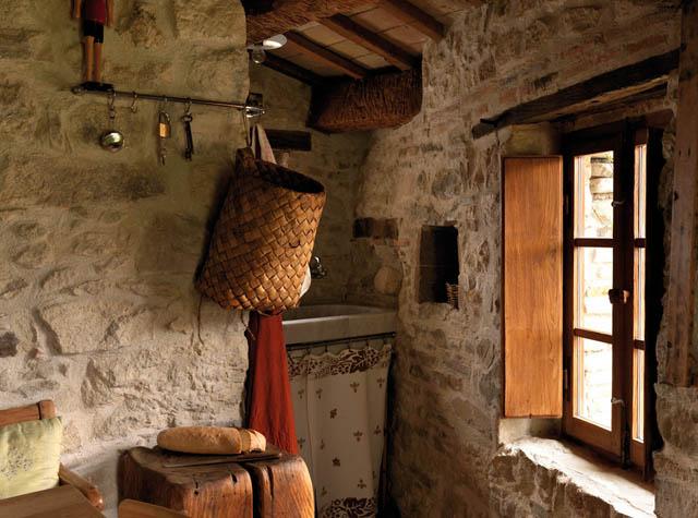 casa rural en italia -detalle cocina