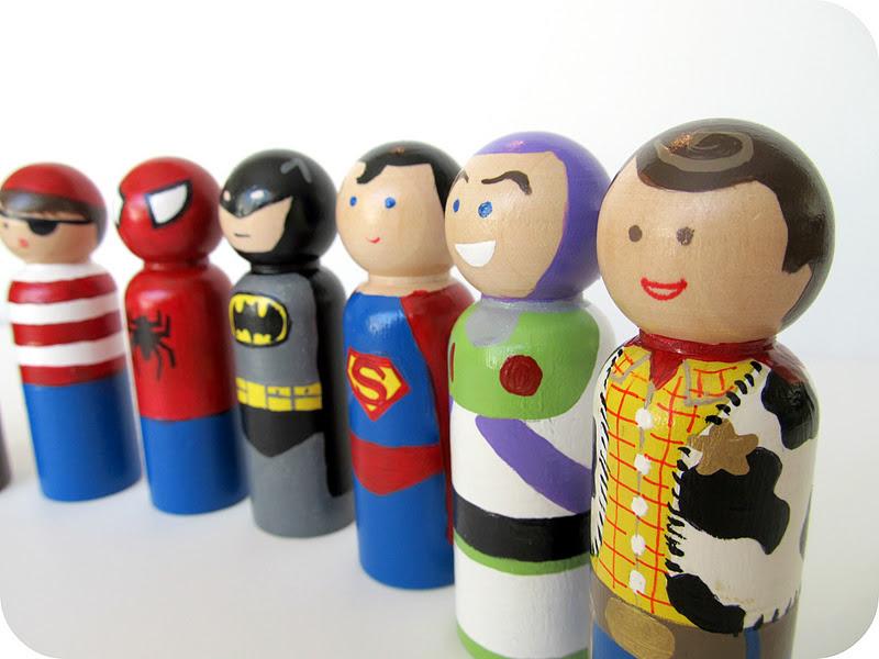 wooden peg dolls 1