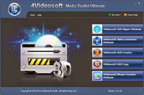 4Videosoft Media Toolkit Ultimate 5