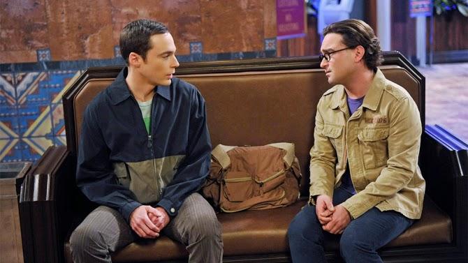 Sheldon y Leonard se despiden en un final insólito en la estación de tren