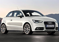 White Audi A1 HD Wallpaper