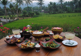 Nusantara Risjtafel Menu - Stupa Restaurant - Mahakarya Borobudur Package