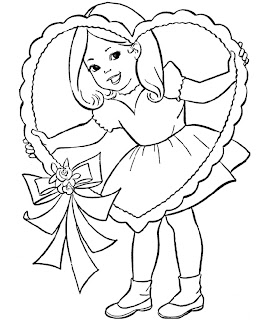 Download Free Valentine's Coloring Pages For Kids