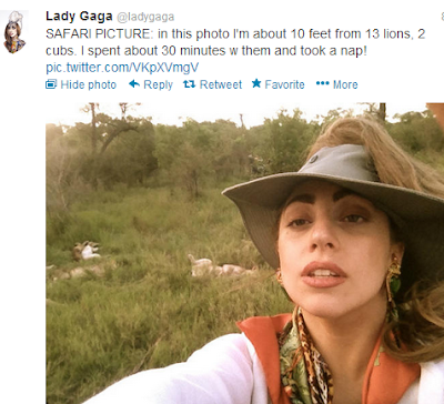 Lady Gaga in SA