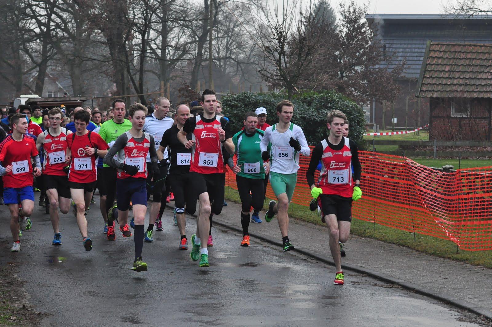Sögel (DE) Silvesterlauf  Start en finish 5/10 K en jeugd