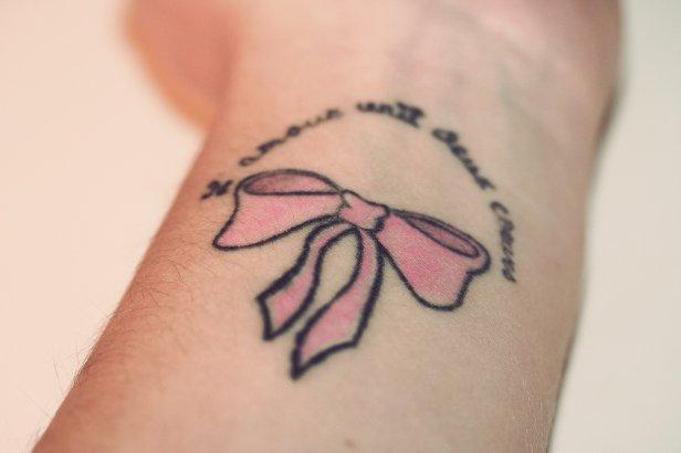 Cancer Ribbon Tattoos Designs | Best 4U