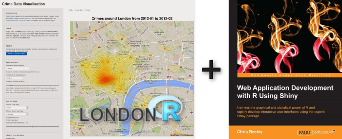 CrimeMap, LondonR and a Book Review