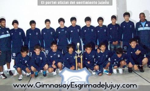 Escuela de Fútbol, Gimnasia de Jujuy