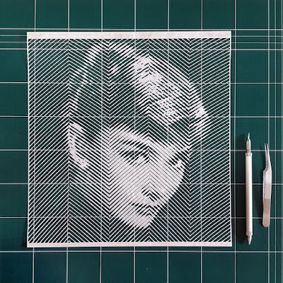 audrey hepburn artista collage