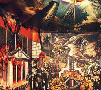 Art now and then david siqueiros for Mural siqueiros