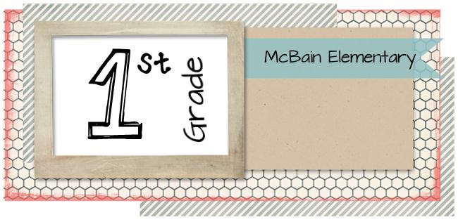 McBain 1st Grade